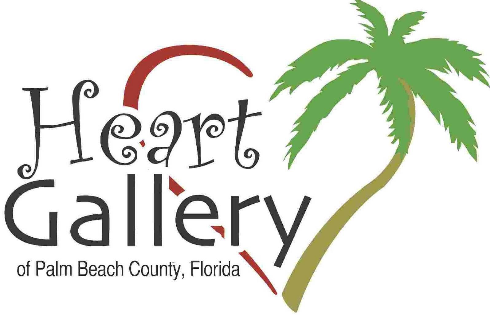 Heart Gallery of Palm Beach County Logo