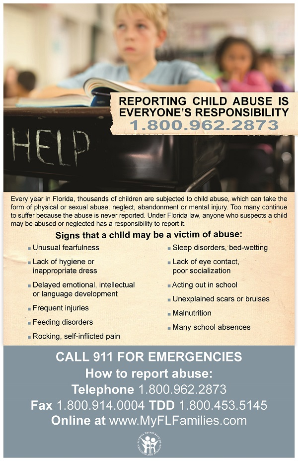 Child Abuse Hotline Flyer