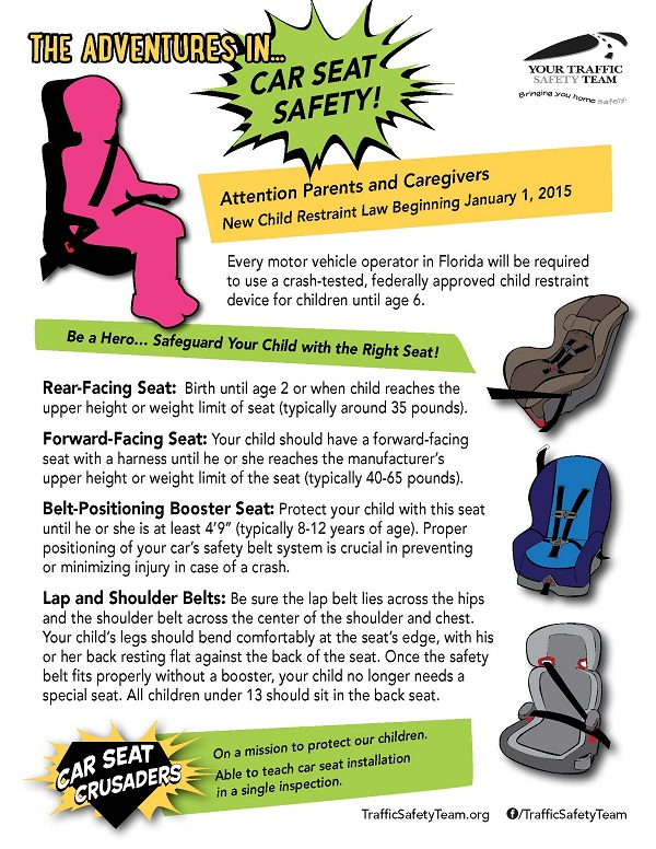 Car Seat Safety Brochure